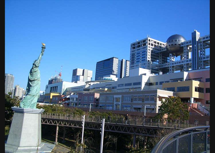 來「自由女神像的露台」自拍吧