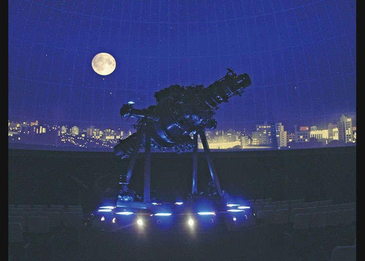 """""""Planetarium Nakano ZERO"""" dalam suasana retro"""