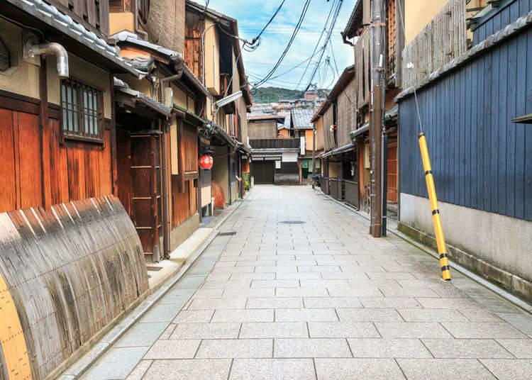 Exotic townscapes in Japan