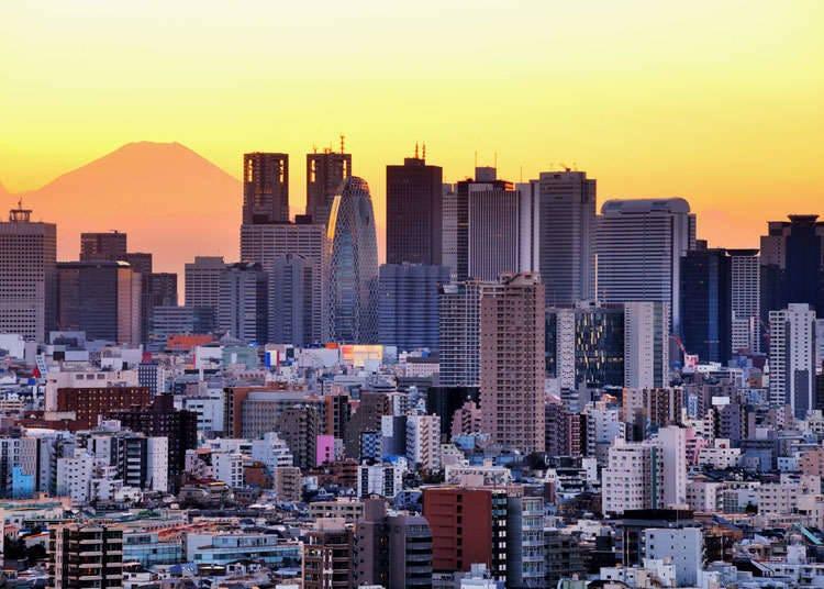 Pemandangan bandar moden