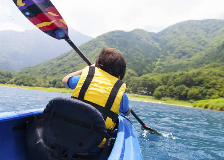 How to enjoy rivers and lakes