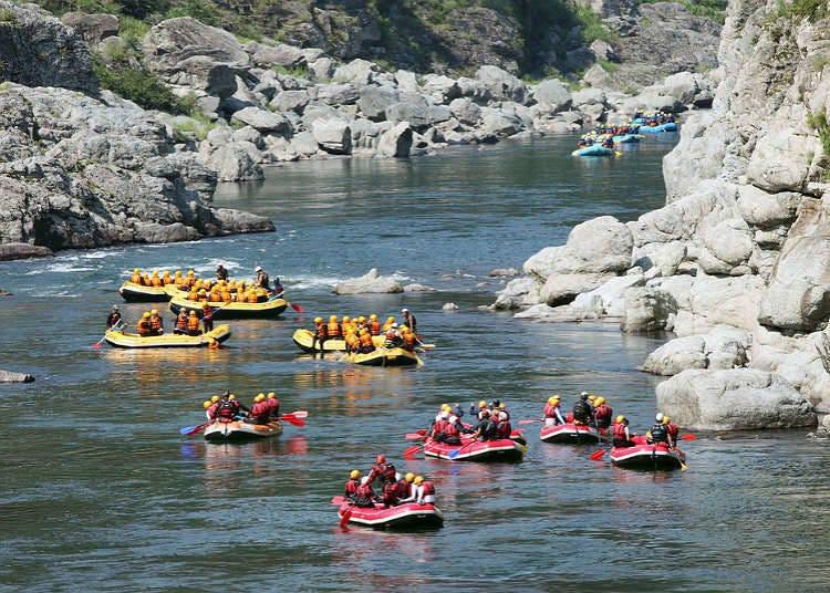 강에서 즐기는 네이처 스포츠