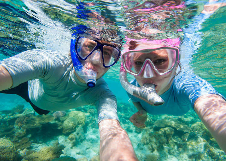 Snorkeling and Scuba Diving in Japan