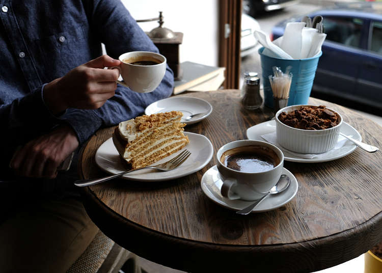 Cafe, tearooms and sweets