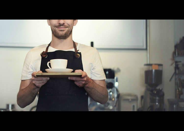 Master di Kafe dan Kedai Kopi
