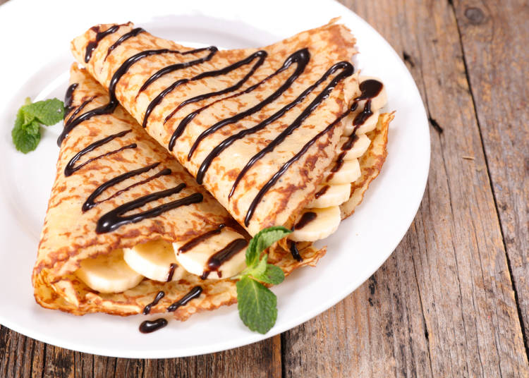 Crepes: An Unexpected Japanese Favorite!