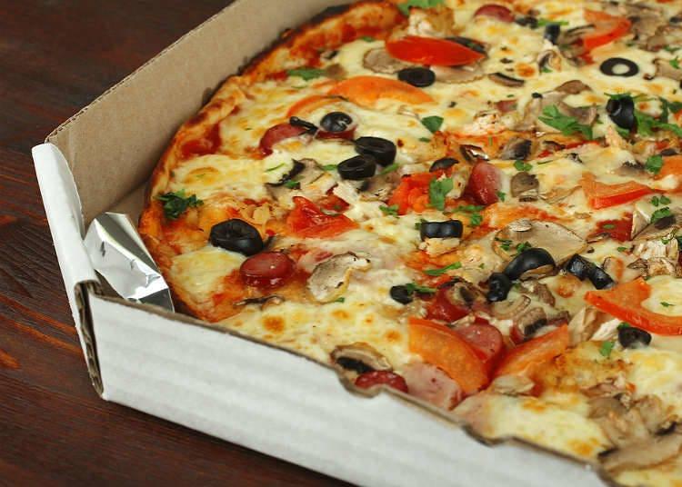 日本のピザの歴史