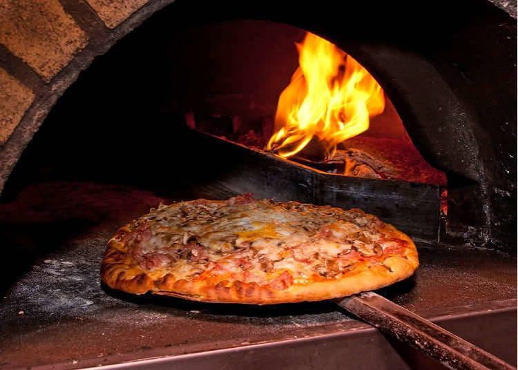 日本でピザが食べられる場所