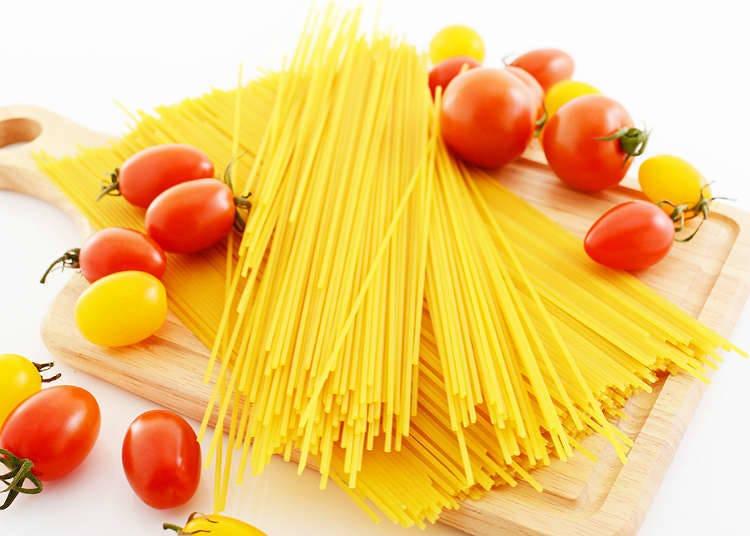 Tempat untuk menikmati pasta dan spageti di Jepun