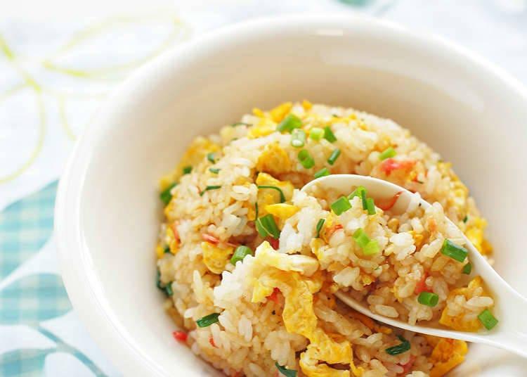 Jenis-Jenis Nasi Goreng Chahan dan Masakan Nasi Lainnya
