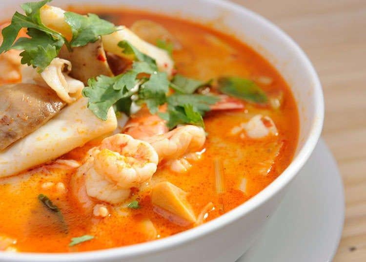 Sejarah makanan Thailand