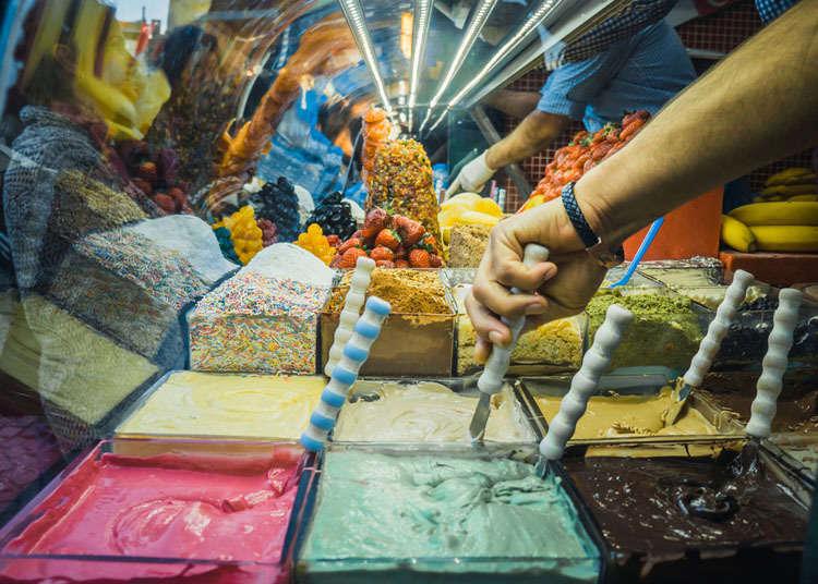 Dondurma (aiskrim gaya Turki)