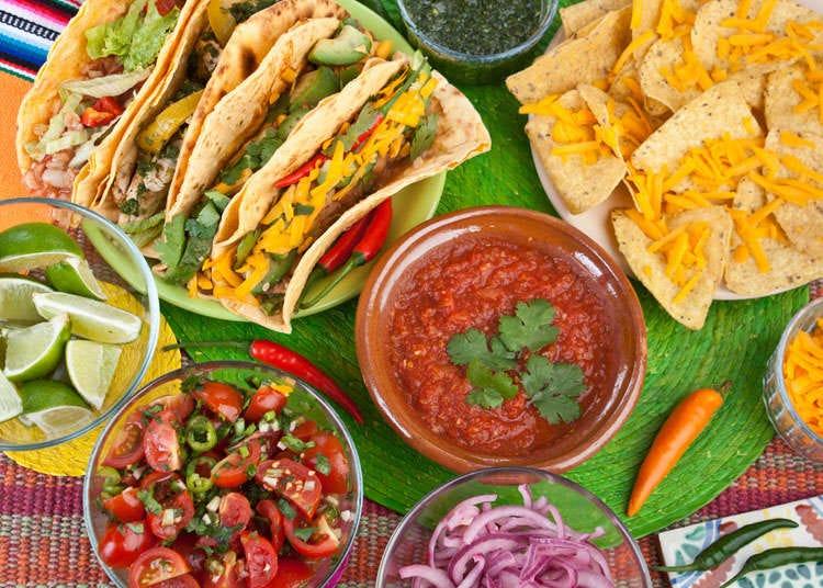Masakan Meksiko, Amerika Tengah