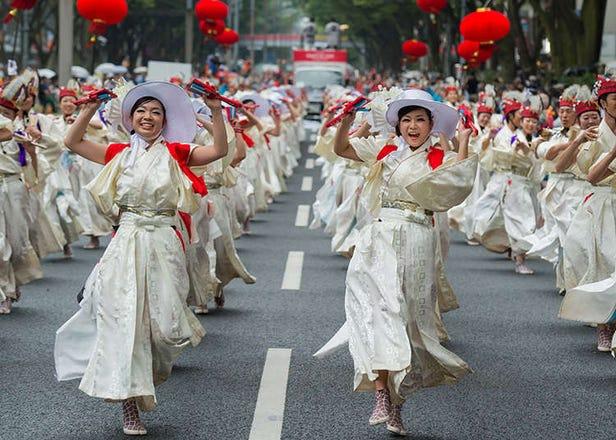 赶走酷暑!东京地区8月举办的各种庆典活动