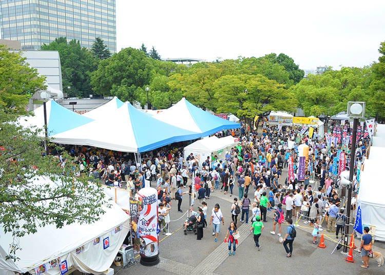 Koenji Awa-Odori Dance (August 24-25, 2019)