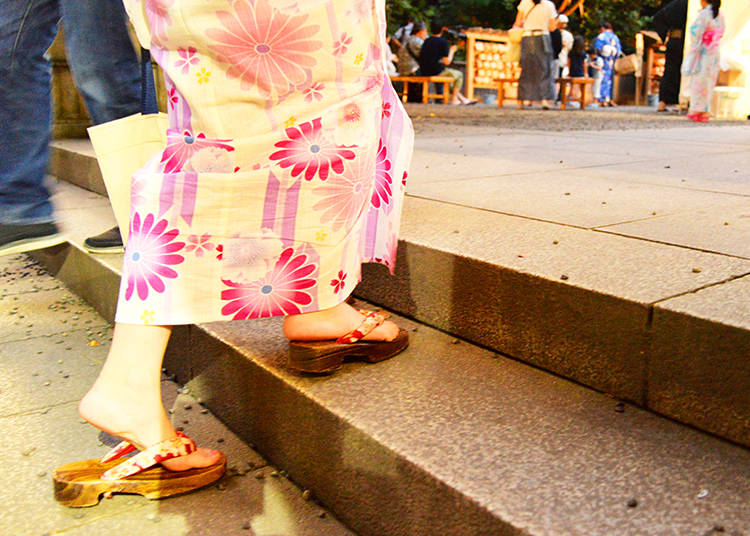 The Nogi Shrine Summer Festival