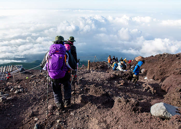 Climbing Fuji 4: The Fuji-Nomiya Trail