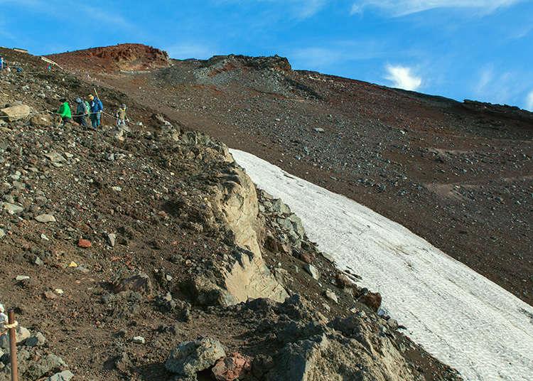 Climbing Mt. Fuji Off-Season