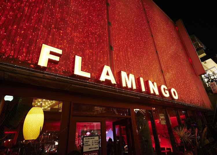 アメリカンテイストのおしゃれなカフェ「cafe FLAMINGO」