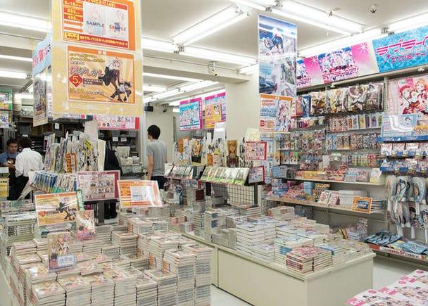 動畫粉絲聚集的專賣店