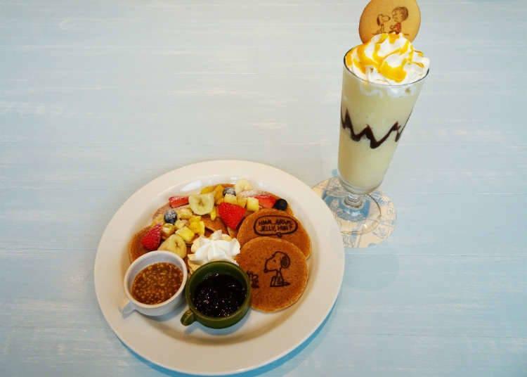 Minuman, Kek, Dan Snek Yang Berwarna-Warni!