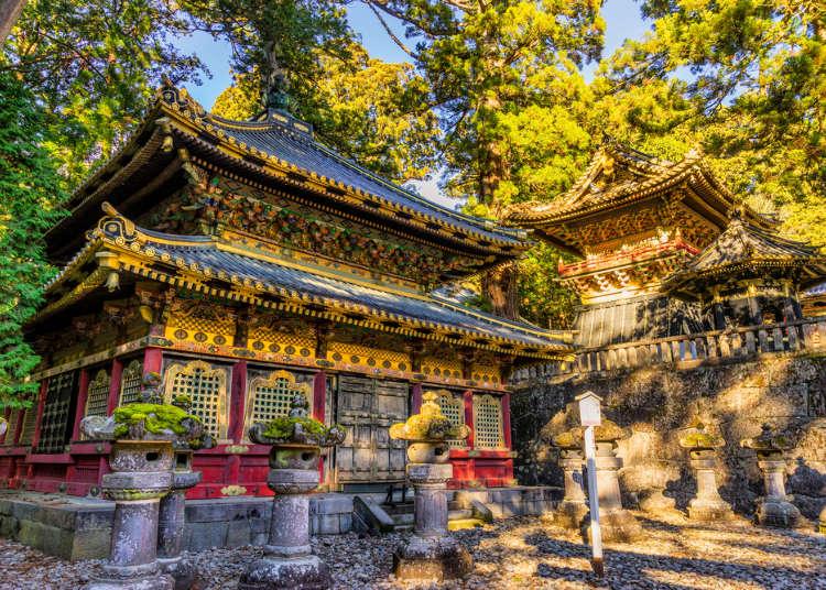 세계유산으로 알려진 일본 닛코의 도쇼구 신사를 돌아다니는 여행