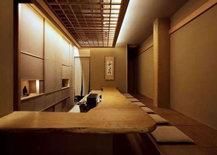 다실 같은 일본다운 공간에서 느끼는 일본의 마음