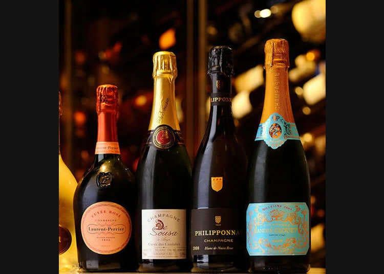 Kedai Khusus Champagne Terkenal - Sommelier