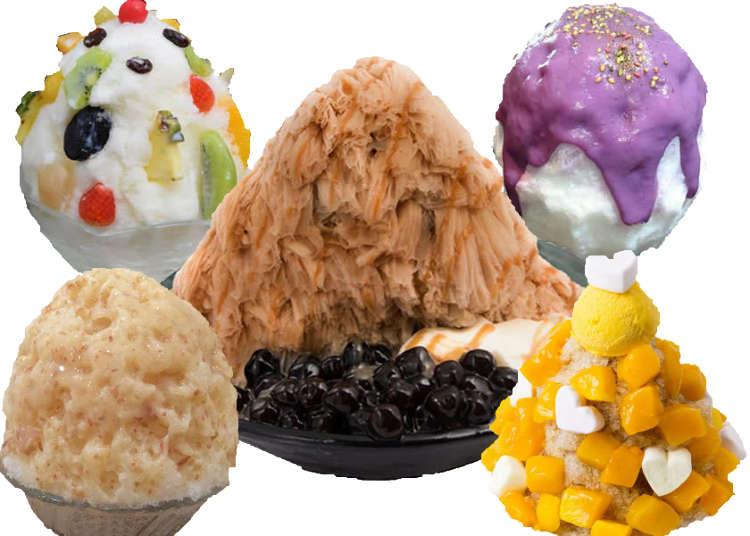 The Real 'Momo' Challenge: Tasting Tokyo's Top 6 Kakigori Shaved Ice Shops!