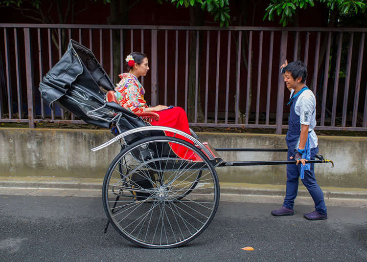 Beginning My Asakusa Rickshaw Journey