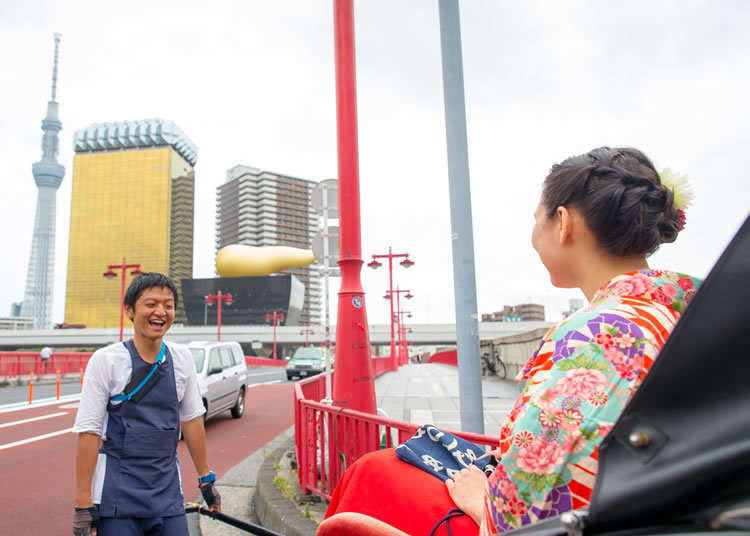 On the Way: Hopping on the Asakusa Rickshaw Tour!