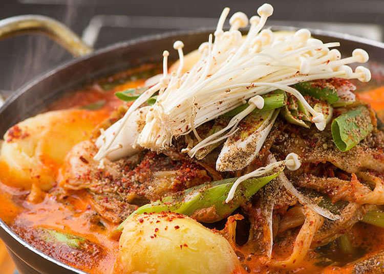 令人無法拒絕的辣味和濃醇味道!韓式馬鈴薯豬骨湯