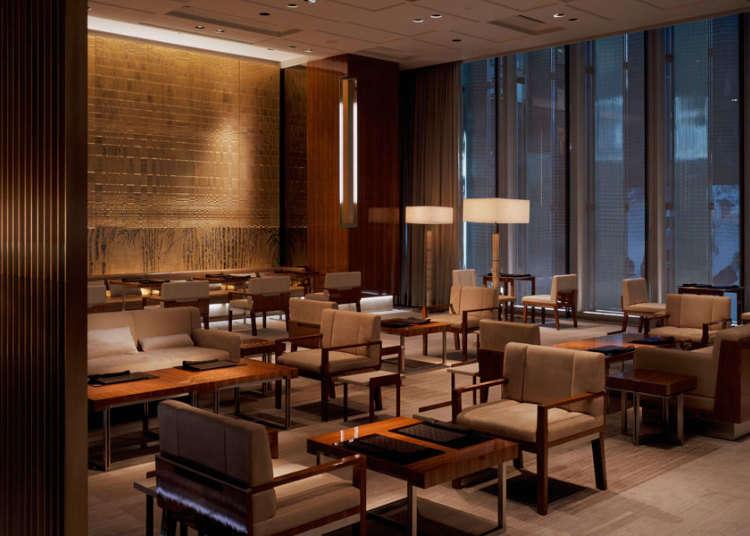最高级的休憩空间!必去的奢华名牌咖啡厅