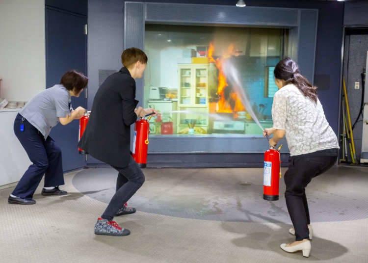 """""""Kebakaran!"""" Pengalaman Memadamkan Api di Jepang"""