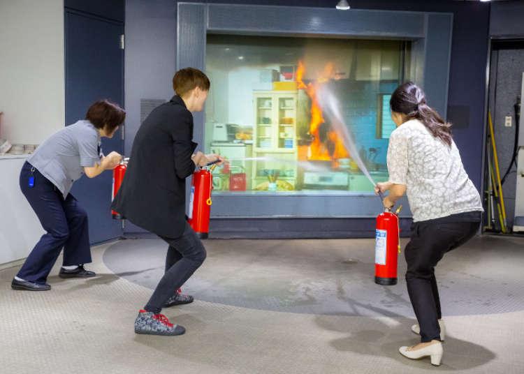 두번째, 화재 체험