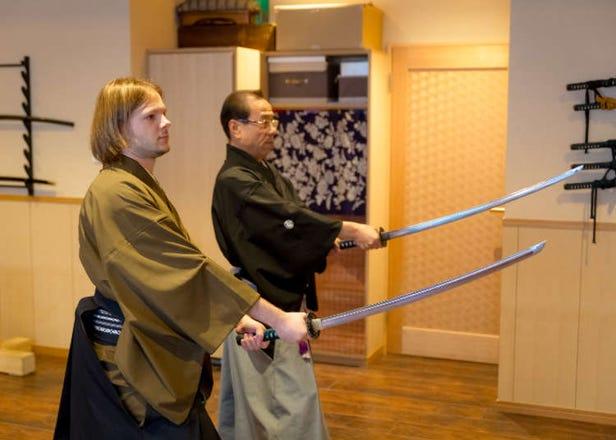 Samurai Swordsmanship: Taking a Real Battōjutsu Class in Tokyo! (Video)