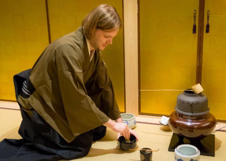 [MOVIE] ใส่ชุดกิโมโน เข้าพิธีชงชาแบบญี่ปุ๊นญี่ปุ่นที่กินซ่า