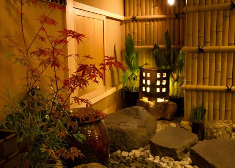 """เข้าห้องชงชาจากทางเข้า """"นิจิริกุจิ"""""""