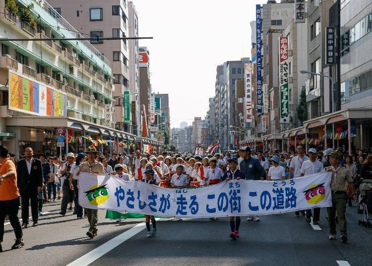 合羽橋道具祭2018
