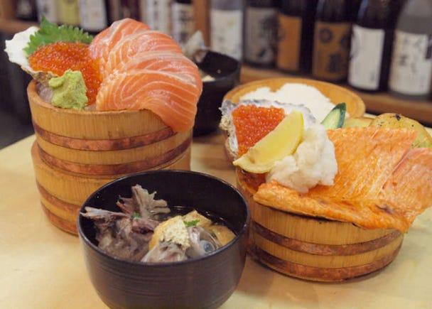 2. Takamaru Sengyoten: Enjoy Fresh Fish in a Relaxed Port Town Atmosphere