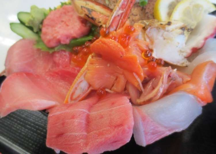 メニュー豊富な海鮮料理店