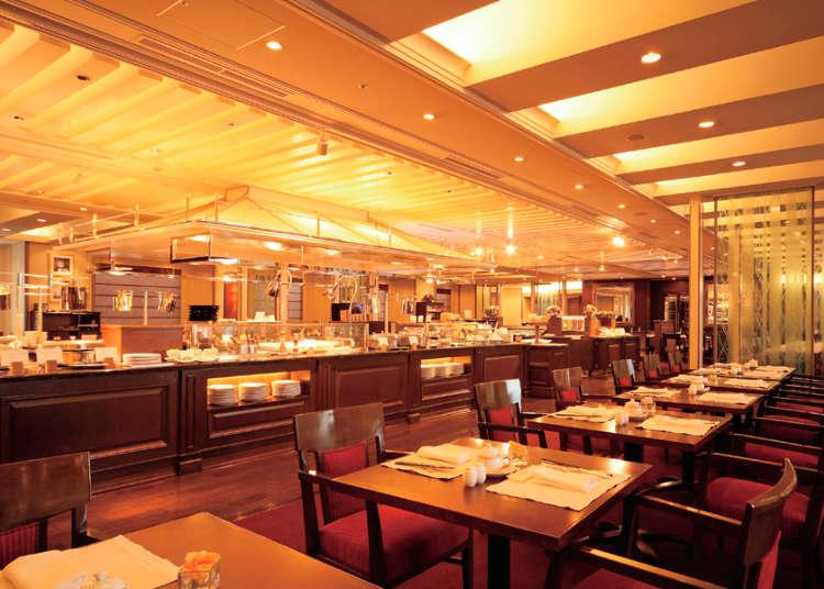 日本初のブッフェレストラン