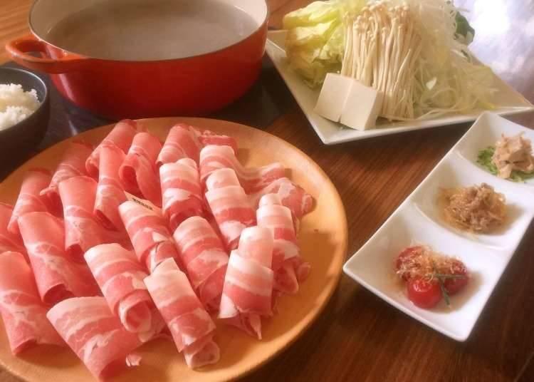 ชาบูชาบูเนื้อหมูเมการะคัดพิเศษ