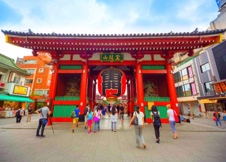 도쿄 아사쿠사 센소지에 가기전에 알아두고 싶은 7가지