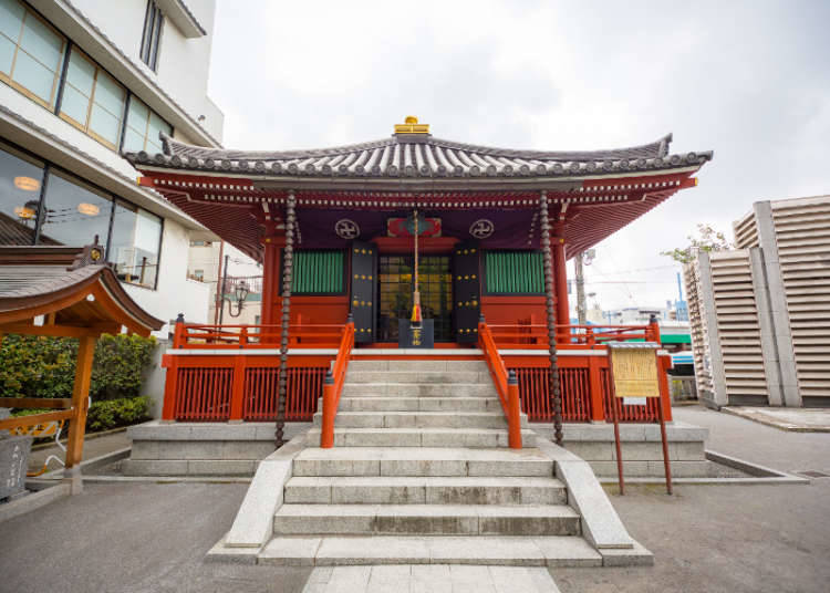 Tempat Lahir Kuil Sensoji, Kuil Komagatado