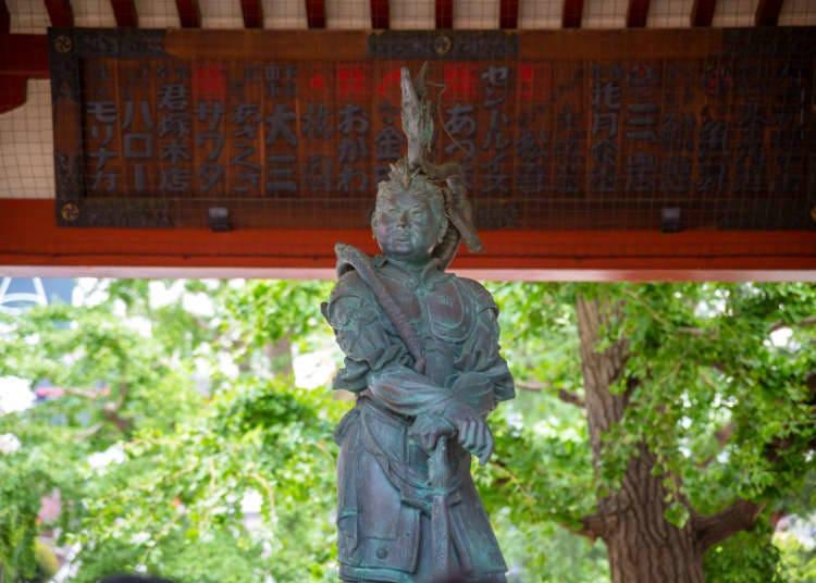 Dentang Lonceng Kuil Sensoji