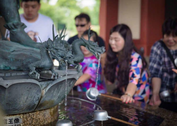 Sebelum Memasuki Kuil! Bersihkan Diri Dan Minda Anda Di Chozuya