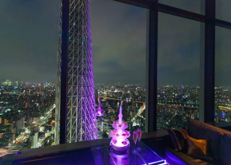 วิวโตเกียวยามค่ำคืนที่คุณจะเป็นได้เป็นเจ้าของแต่เพียงผู้เดียว