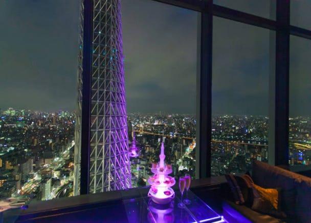 獨享東京的夜景