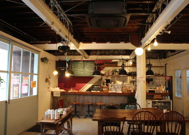 아늑한 카페, 후카다소 카페(fukadaso cafe)
